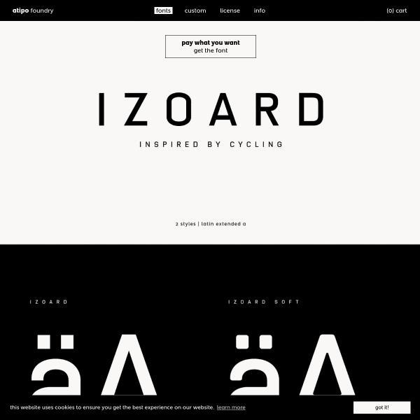 screenshot of Izoard