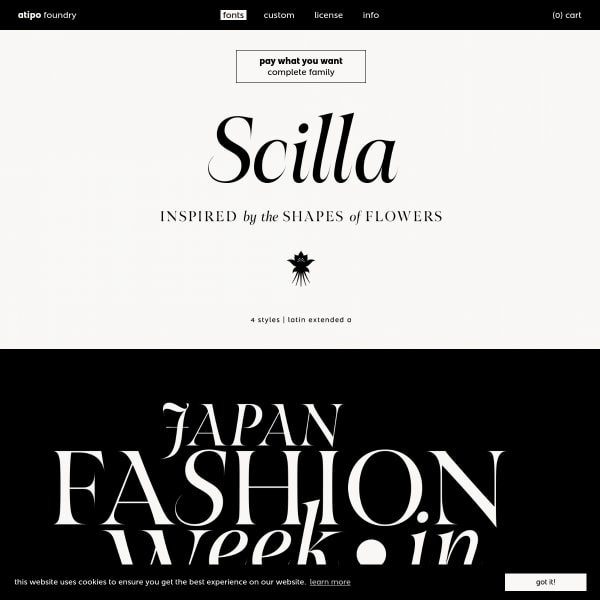screenshot of Scilla
