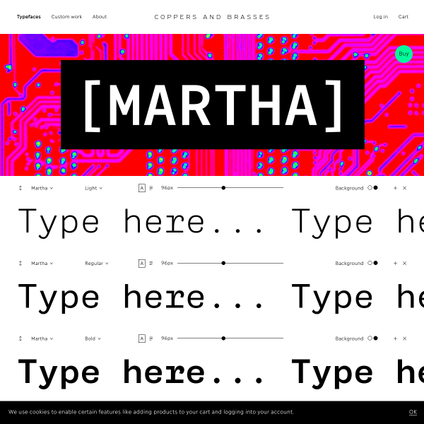 screenshot of Martha
