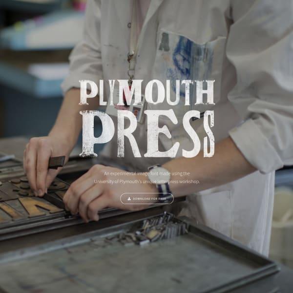 screenshot of PlymouthPress