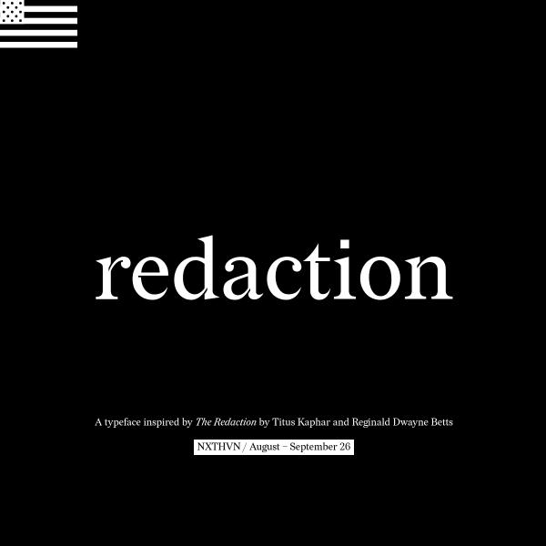 screenshot of Redaction