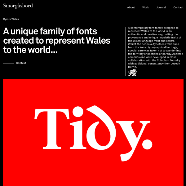 screenshot of Cymru Wales