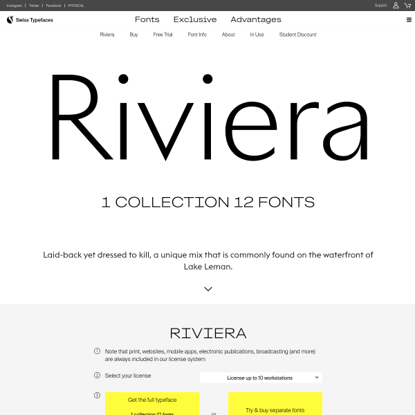 screenshot of Riviera