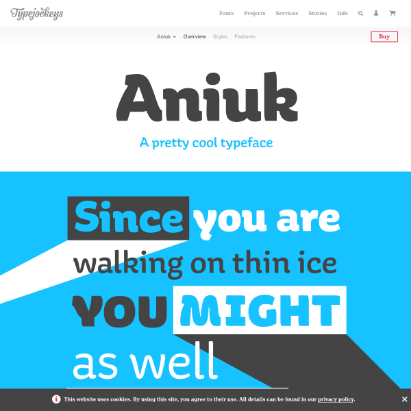 screenshot of Aniuk