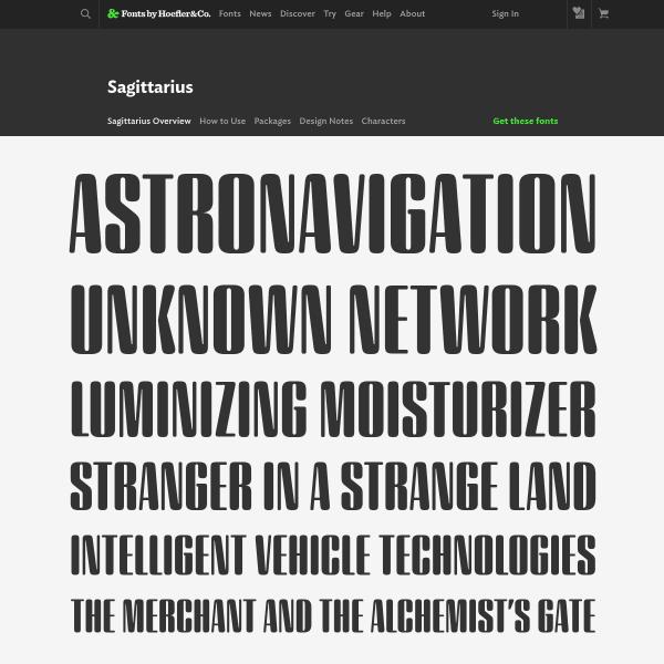 screenshot of Sagittarius