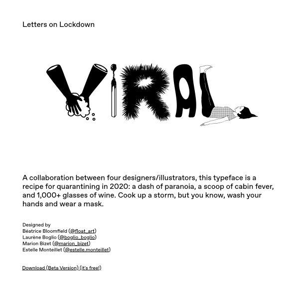 screenshot of VIRAL