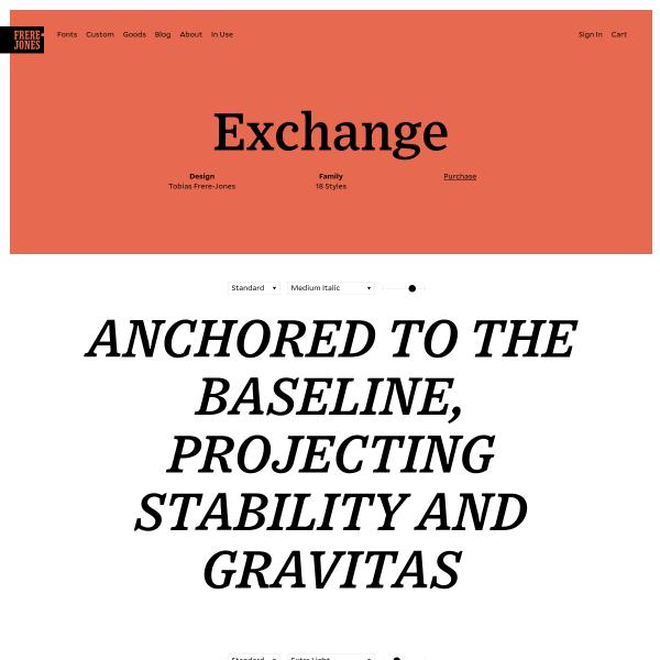 Screenshot of Exchange