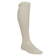 Magnus strømper 90%ull/10%polyamid hvit
