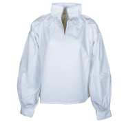 Kari bunadskjorte. m/nupereller 100% bomull