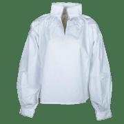 Marit bunadskjorte barn. m/nupereller. 100% bomull