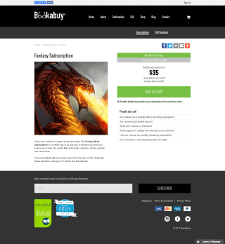 Bookabuy website screenshot