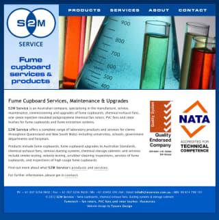 S2M Services website screenshot