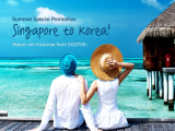 Return All-Inclusive!! Fly to Korea this Summer with Asiana Airlines from just SGD705! from Asiana Airlines Singapore