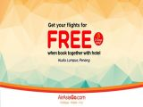 Get your Flights for FREE when Book Together with Hotel via AirAsiaGo from AirAsiaGo