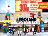 The Online Travel Sales Up to 30% Off Starts with Legoland Malaysia from Legoland Malaysia