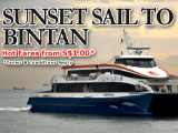 Hot Fares with Bintan Resorts Ferries! from Bintan Resorts