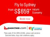 Fly to Sydney from SGD659 with Qantas Airways from Qantas Airways