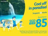 Fly to Philippines with Cebu Pacific from SGD85 from Cebu Pacific Air