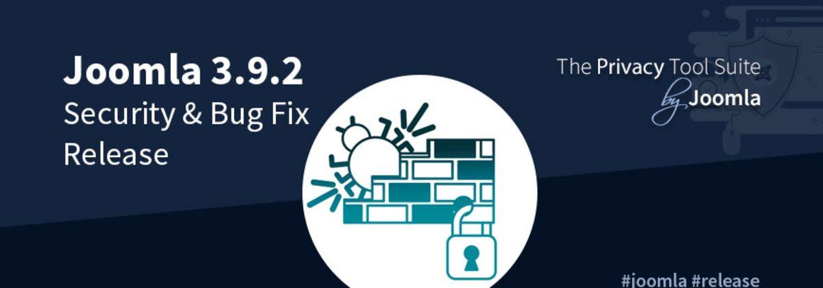 Joomla 3.9.2 Security Update Beschikbaar