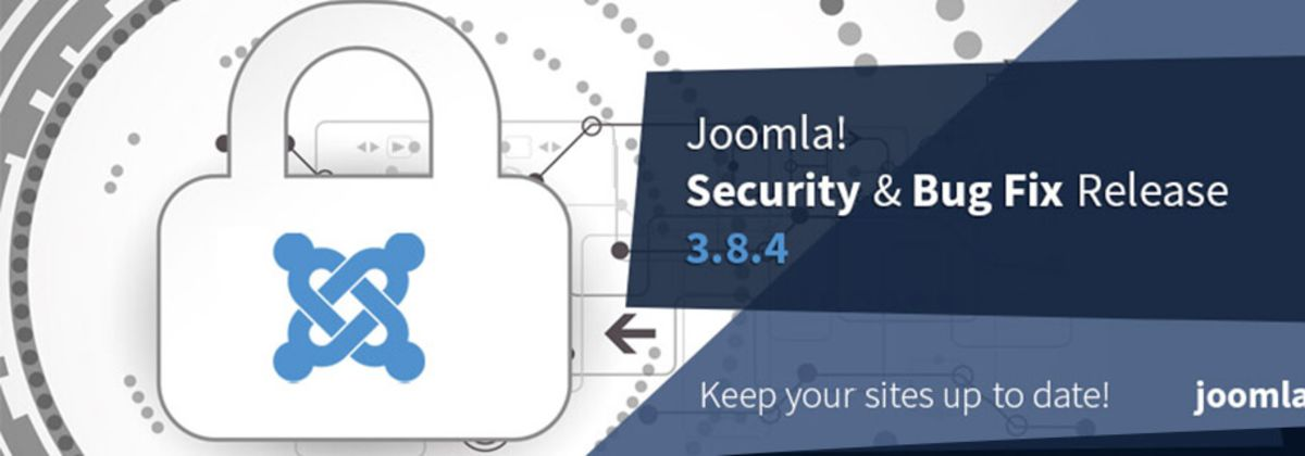 Joomla 3.8.4 security & bug fix release vrijgegeven