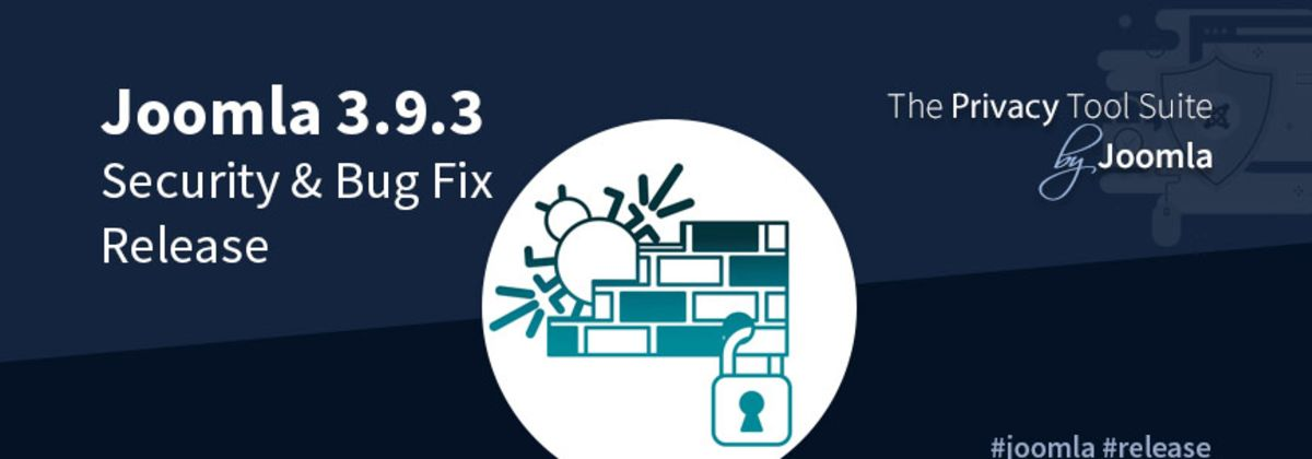 Joomla 3.9.3 Security & Bug Fix update beschikbaar