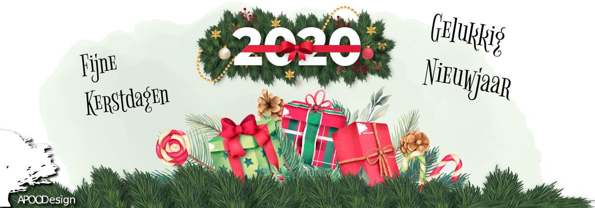 Fijne kerst en een gelukkig nieuwjaar 2020