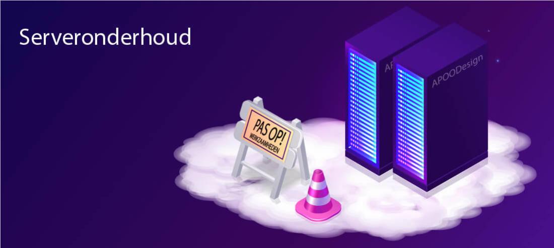 Server onderhoud 22 mei 2020
