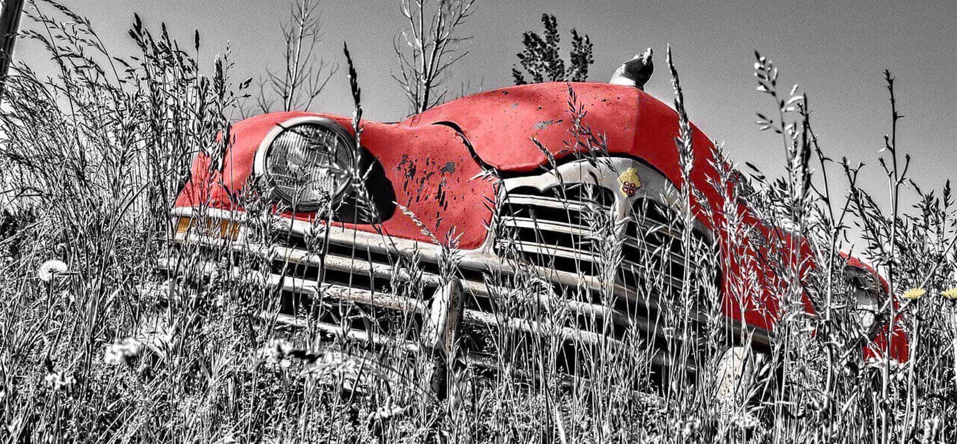 oldtimer red