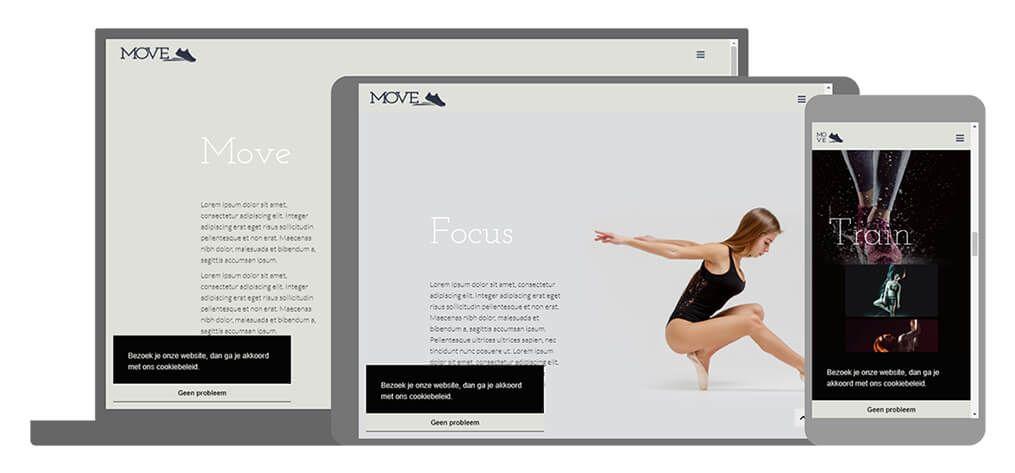 Move een U-Page One website