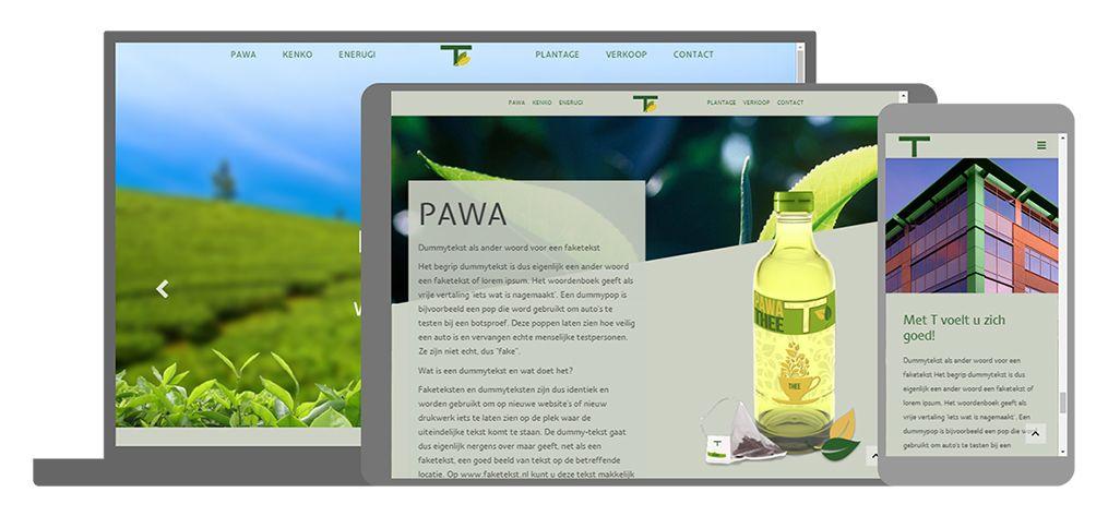 T een U-Page One website