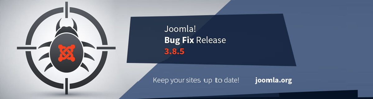 Joomla 3.8.5 bug fix release vrijgegeven