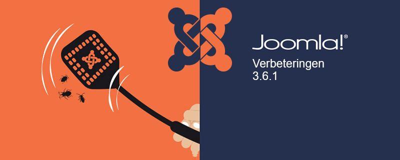 Joomla! 3.6.1 is vrijgegeven