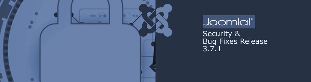 Joomla! 3.7.1 is vrijgegeven