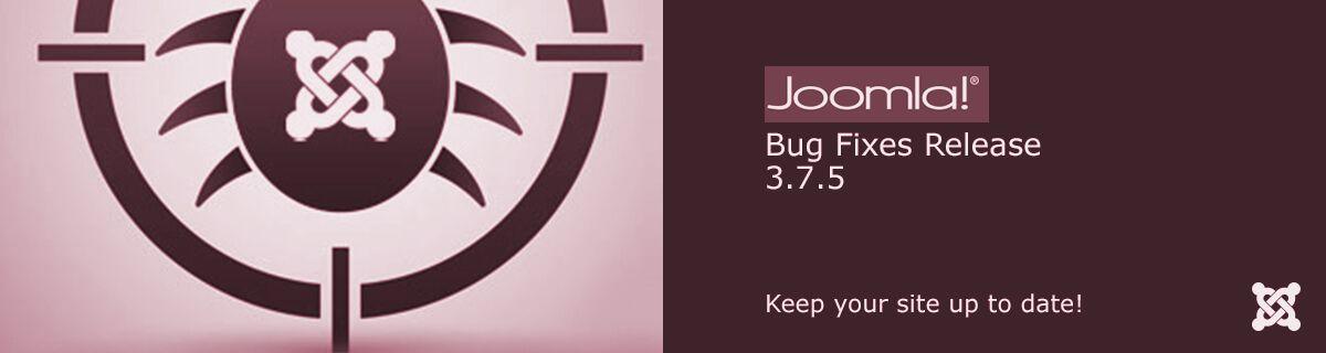 Joomla! 3.7.5 update is vrijgegeven