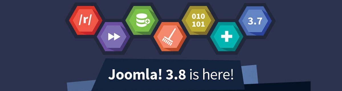 Joomla 3.8.0 is vrijgegeven
