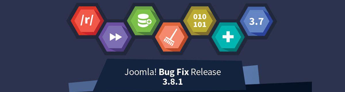 Joomla! 3.8.1 is vrijgegeven
