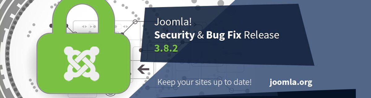 Joomla 3.8.2 security & bug fix release vrijgegeven