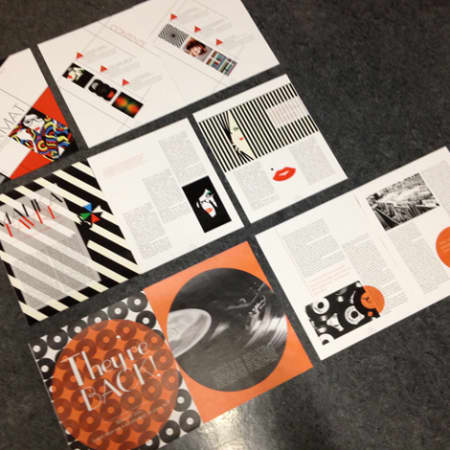 graphic design magazine introduction to magazine layout central martins ual 10259