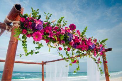 Blossoms venue decor