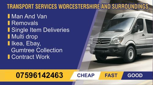 Man & Van Services Kidderminster