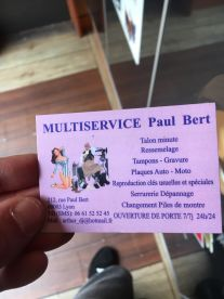 Multi Service Paul Bert