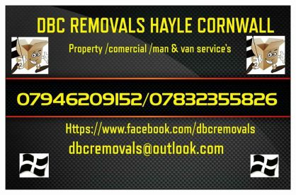 DBC Removals Hayle Cornwall
