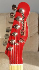 Bishop Guitar Builds