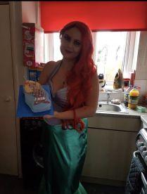 Disney Ariel Princess Appearance For Kids' Parties