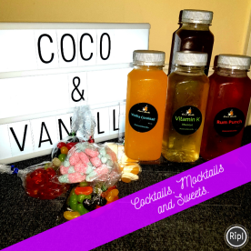 Coco And Vanilla Cocktails