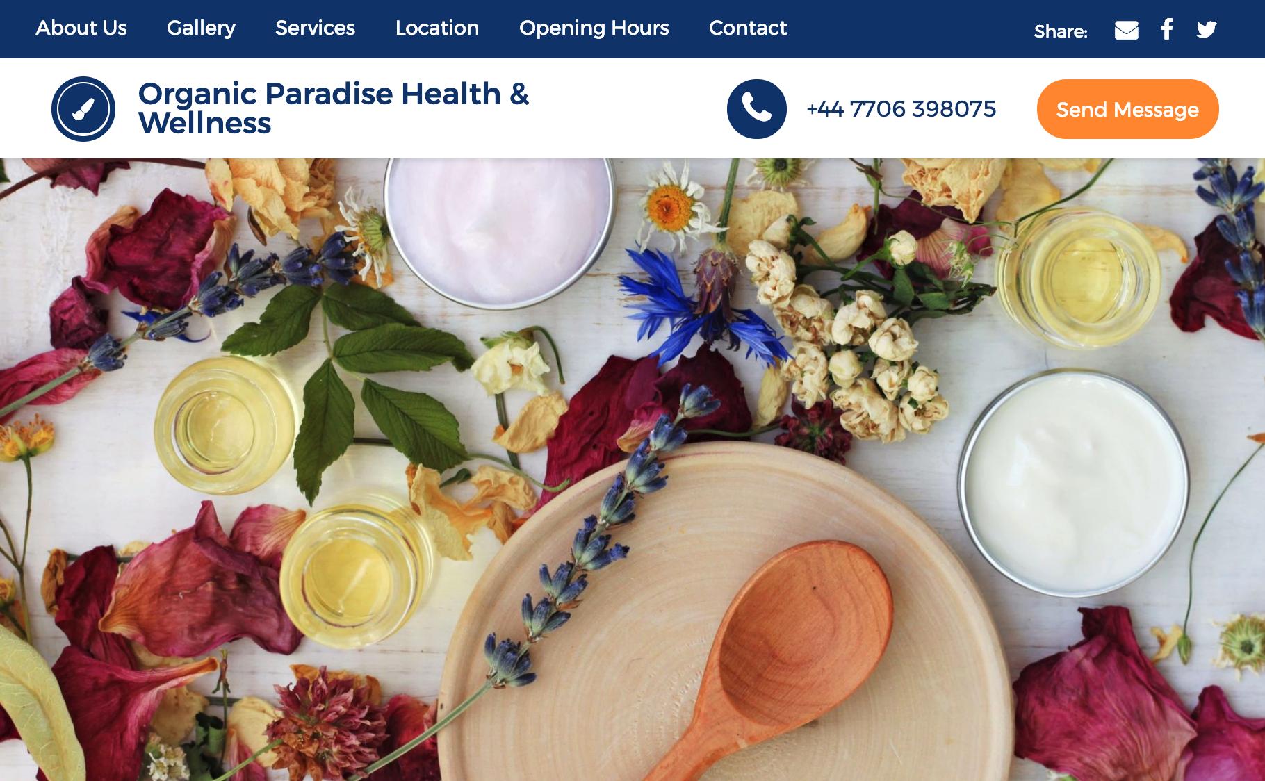 Organic Paradise Health & Wellness