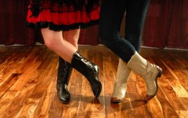 What is the best layout for a dance instruction website?