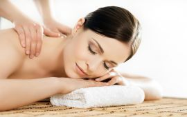 How much does a massage salon's website cost?