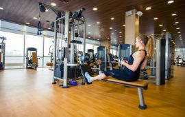 What is the best layout for a wellness centre website?