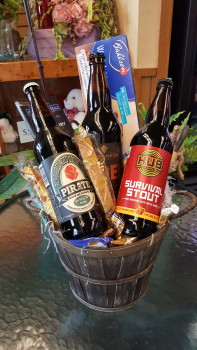 Beer Wine Gift Baskets